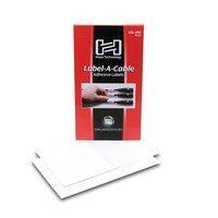 Hosa LBL-466 Lable-A-Cable Cable Labels 60pc