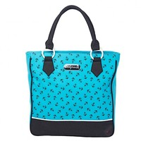 Sourpuss Anchor Tote Bag | Classic Vintage Inspired Design