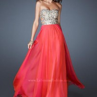 La Femme Dress 18602 at Peaches Boutique