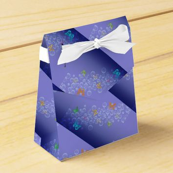 Bubbles n Butterflies Favor Box