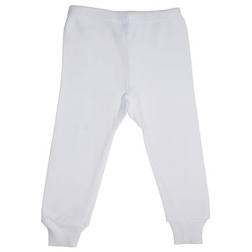 Bambini White Long Pants