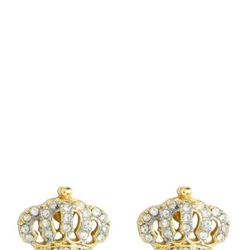 Crown Stud Earring by Juicy Couture
