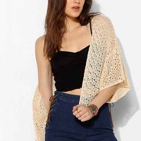 Staring At Stars Crochet Cropped Cardigan-