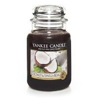 Yankee Candle Coconut and Vanilla Bean Jar Candle, 22-Ounce, Large