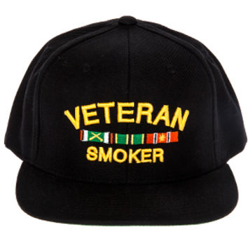 Veteran Smoker snapback hat