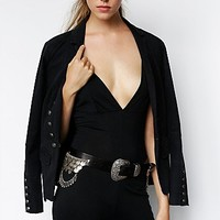 Understated Leather for Free People Womens Troublemaker Belt