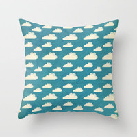 Clouds Throw Pillow by Matthew Taylor Wilson
