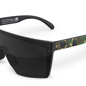 Lazer Face Sunglasses: Woodland Camo Customs