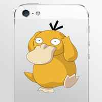Psyduck Pokemon decal sticker for iPhone, iPad Nintendo 3DS XL, 3DS, MacBook and all other devices! ma176