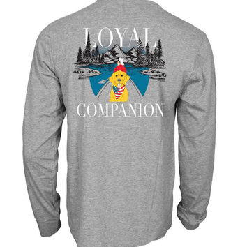 'Loyal Companion' Long Sleeve Tee