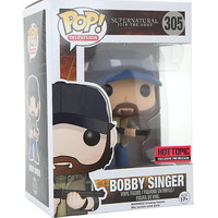 Funko Supernatural Pop! Bobby Singer Vinyl Figure Hot Topic Exclusive Pre-Release