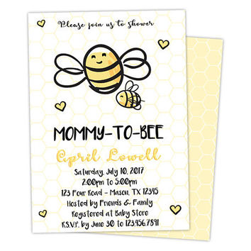 best bee baby shower invitations products on wanelo