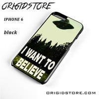 The X Files I Want To Believe For Iphone 6S Case UY