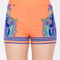 Spice Bright Slouchy Short