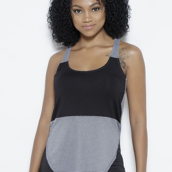 Lines with Boundaries Tank Top