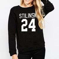 Winter Wolf Stiles Stilinski Teen Women Sweatshirt