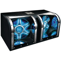 "Dual Dual 12"" Subwoofers Bandpass Box"