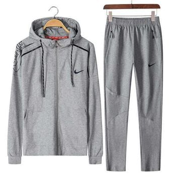 NIKE Sports suit, a long sleeve jacket, leisure sports training clothes two piece One-nice™