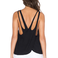 Obey Havana Tank in Black