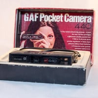 Vintage GAF Pocket Camera 440 with Box -- Rare