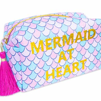 Simply Southern Preppy Collection Mermaid at Heart Cosmetic Bag by Simply Southern