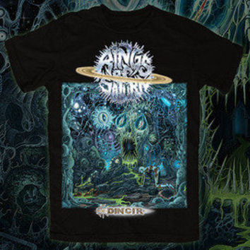 Rings of Saturn Official Merch Store — Rings of Saturn Dingir Album Shirt (Front Design Only)