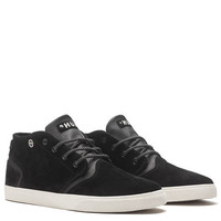 The Mercer Sneaker in Black and Cream