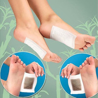 10 PCS Premium Kinoki Detox Foot Pads Organic Herbal Cleansing Patches [9305875015]