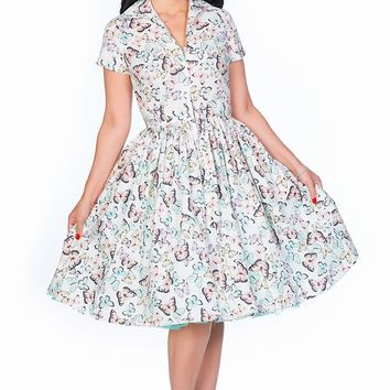Drive In Dress in Madame Butterfly