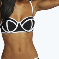 Athens Moulded Cup Panel Detail Bikini