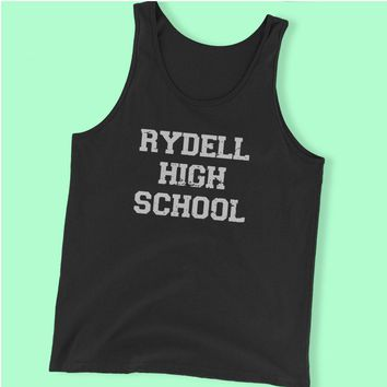Rydell High School Grease Musical Movie Men'S Tank Top