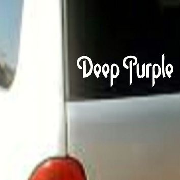 DEEP PURPLE Sticker Decal Vinyl Rock Band Music Logo Car Window Bumper
