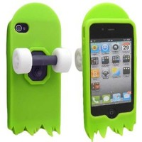 Amazon.com: BastexWireless Premium 3D Skateboard Cartoon Gel Jelly Silicone Stand Case Cover Skin , Free Bastexwireless Cleaning Cloth-Green: Cell Phones & Accessories