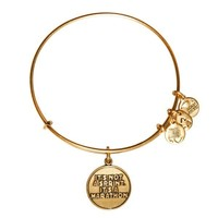 Alex and Ani It's Not A Sprint Charm Bangle - Russian Gold