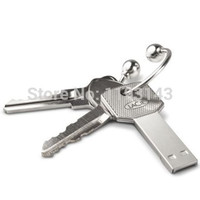 Metal Waterproof 64GB USB Flash Drive Car Key
