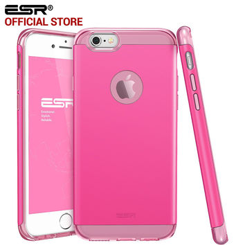 ESR Hybrid Case Soft Interior Hard Mate Back 2 in 1 Dual Layer Protection for iPhone 6s Plus/ 6 Plus
