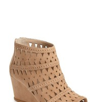 Women's Via Spiga 'Latanya' Suede Wedge Bootie,