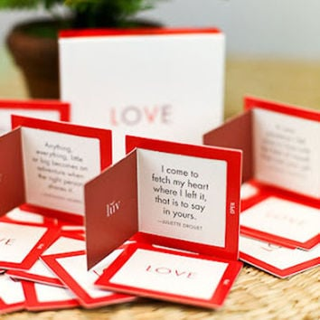 LOVE QUOTATIONS BOX
