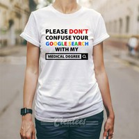 Customize medical degree tshirt Unisex cheap graphic tees size S-5XL