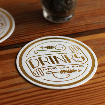 Drinks (8 Coaster Set)