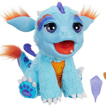 Hasbro, B5142, Furreal Friends, Torch My Blazing Dragon. Plush