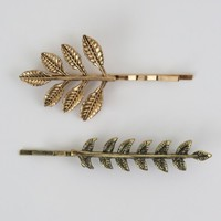 Altar'd State Leaves and Twigs Bobby Pin Set | Altar'd State
