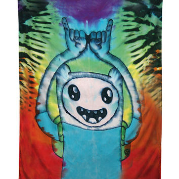 Finn The Human Adventure Time Tapestry