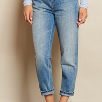 Kitsch Blue Mom Jean