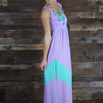 Summer Crush Chevron Maxi