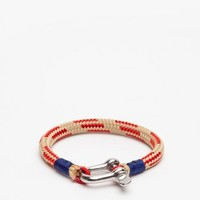 SALTI / Natural/Red Nautical Bracelet