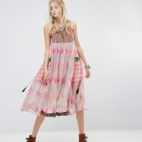 Free People Home Sweet Home Printed Midi Dress at asos.com