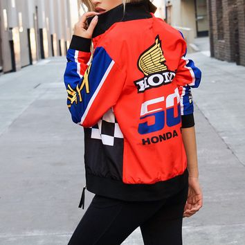 Honda Graphic Bomber Jacket