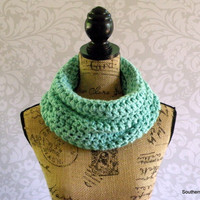Ready To Ship Cowl Infinity Scarf Ocean Women's Accessory