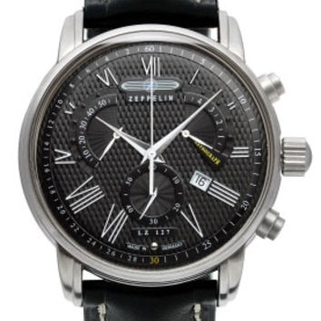 Graf Zeppelin LZ127 Retrograde Chronograph Watch 7682-2